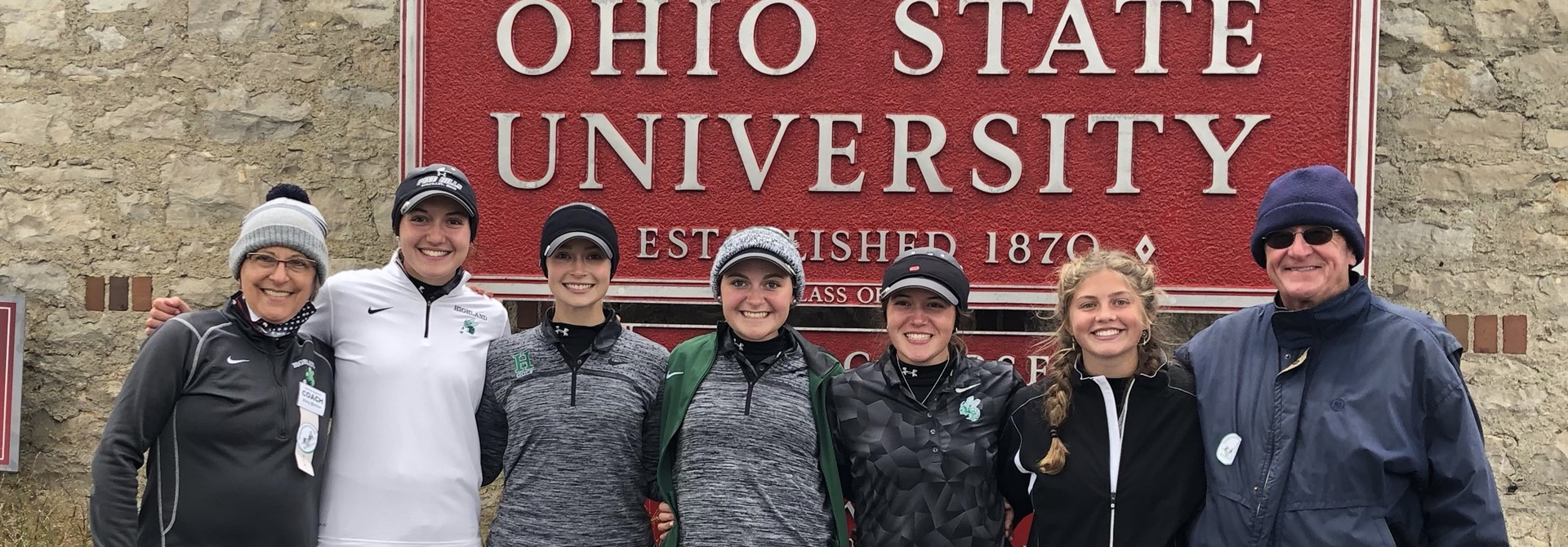 Girls Golf Team Places 5th at State!