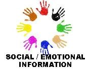 Circle of Hands with the words Social/Emotional Information