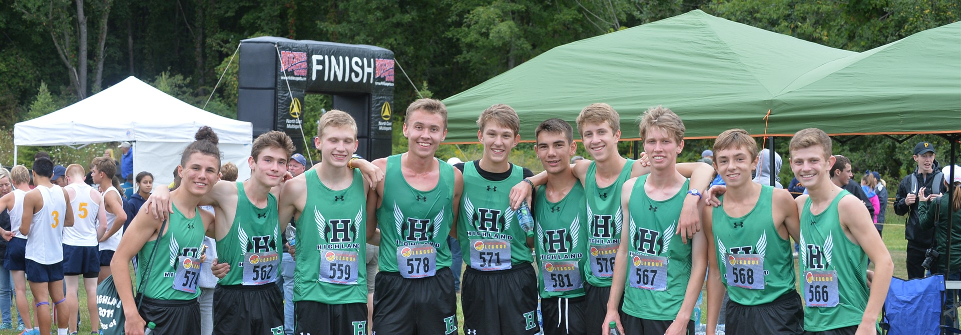 Highland Cross Country Runners