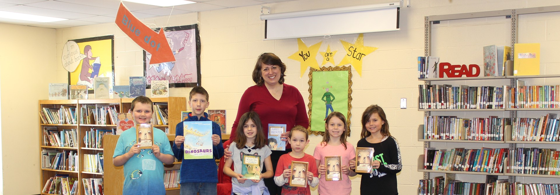 Author Elise Broach Visits Elementary Schools